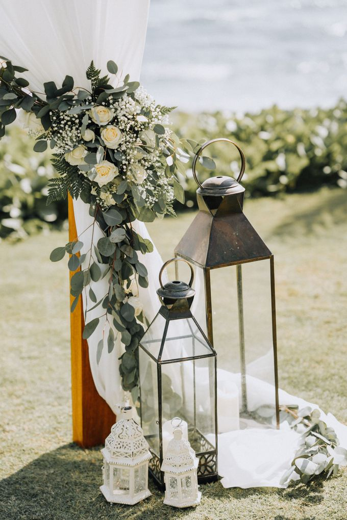 Simple Tropical Summer Wedding at Taman Ahimsa Bali by Silverdust Decoration - 011