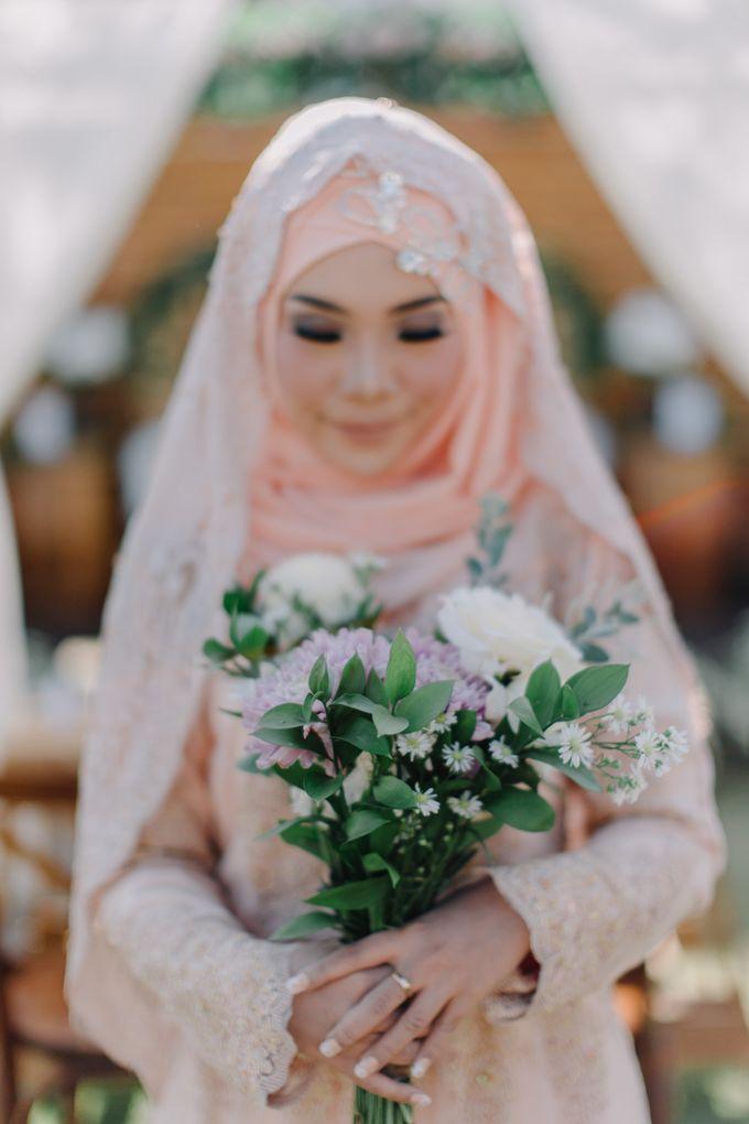 T&F Wedding Surabaya by LAKSMI - Kebaya Muslimah & Islamic Bride - 005