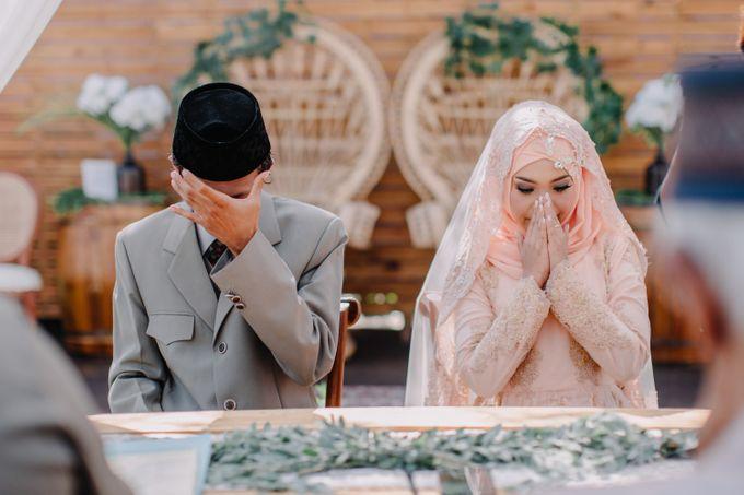 T&F Wedding Surabaya by LAKSMI - Kebaya Muslimah & Islamic Bride - 007