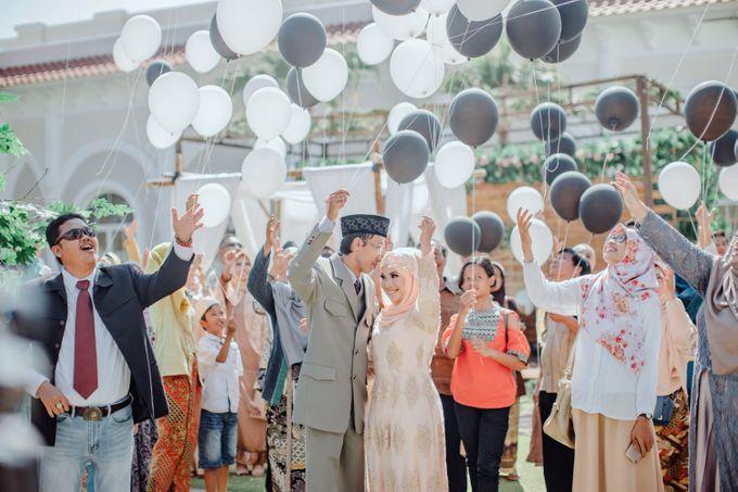 T&F Wedding Surabaya by LAKSMI - Kebaya Muslimah & Islamic Bride - 009
