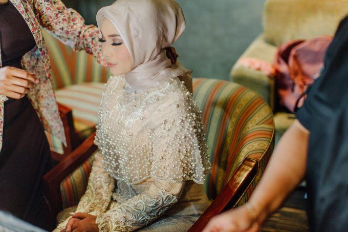T&F Wedding Surabaya by LAKSMI - Kebaya Muslimah & Islamic Bride - 010
