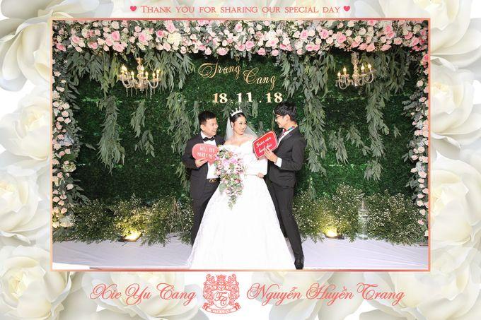 Trang & Cang Wedding by Printaphy Photobooth Ho Chi Minh Sai Gon Vietnam by Printaphy Photobooth Vietnam - 007