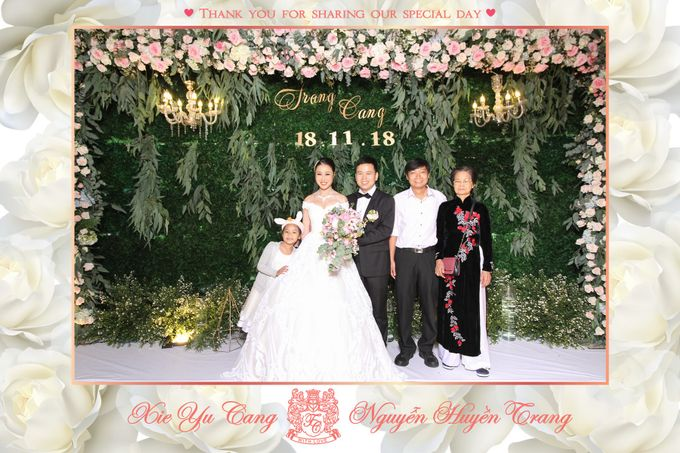 Trang & Cang Wedding by Printaphy Photobooth Ho Chi Minh Sai Gon Vietnam by Printaphy Photobooth Vietnam - 003