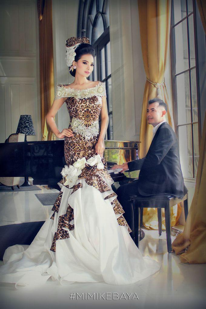Wedding Dress Mermaid Batik Prada by Mimi Kebaya | Bridestory.com