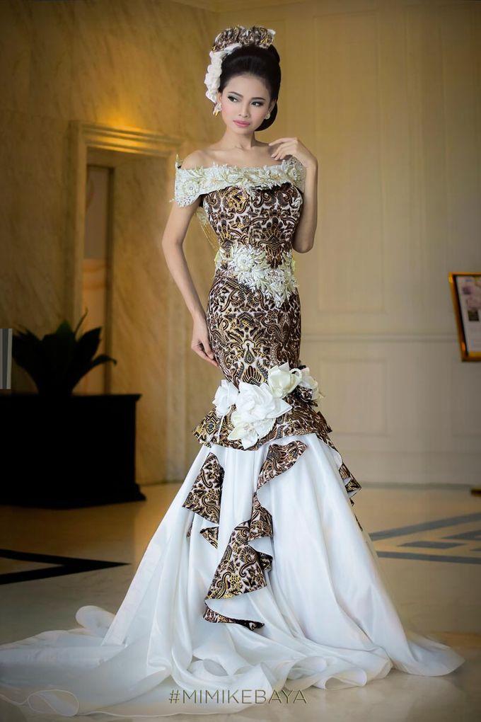 Wedding Dress Mermaid Batik Prada by Mimi Kebaya   Bridestory.com
