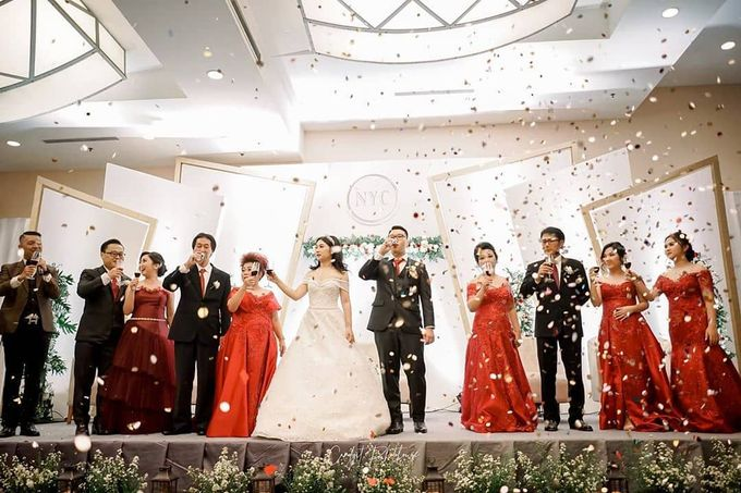 Wedding Of Julius & Novike by Financial Club Jakarta - 009