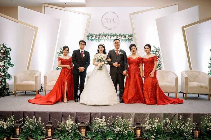 Wedding Of Julius & Novike by Financial Club Jakarta - 007