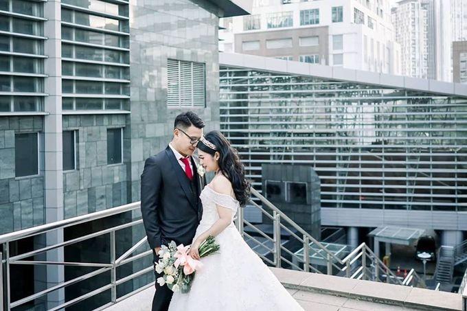 Wedding Of Julius & Novike by Financial Club Jakarta - 005