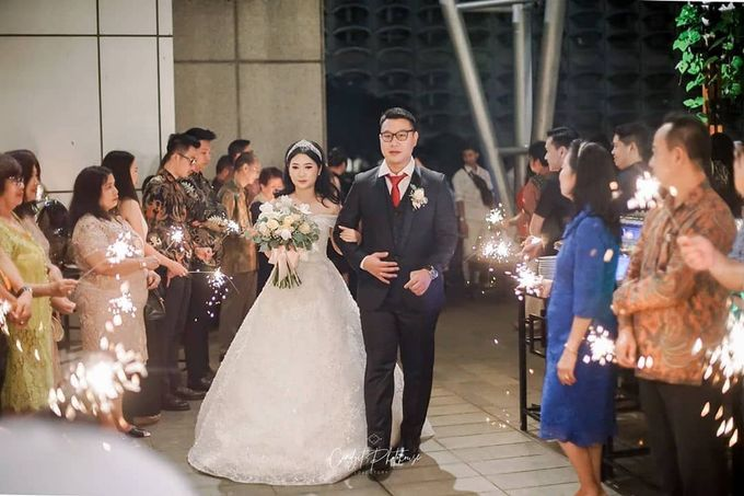 Wedding Of Julius & Novike by Financial Club Jakarta - 003