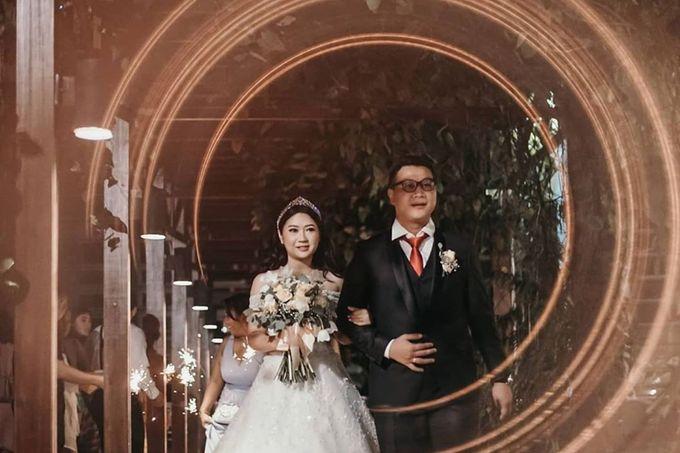 Wedding Of Julius & Novike by Financial Club Jakarta - 010