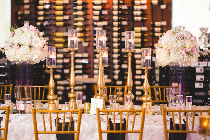 Local wedding at a winery shop by Weddings by AMR - 003