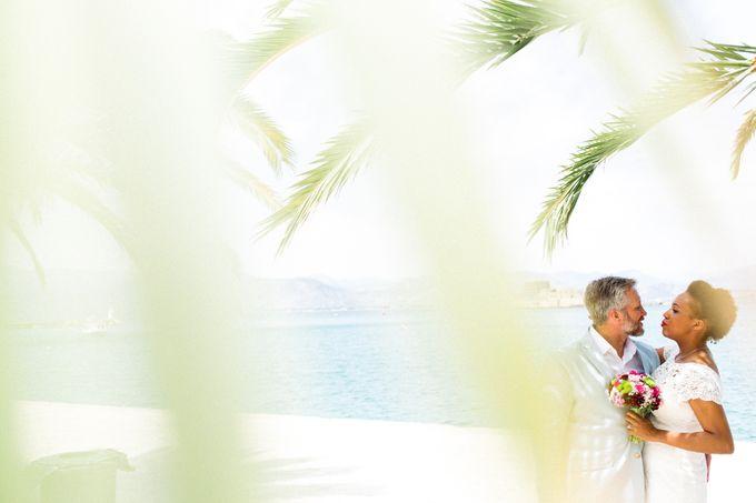 An Afro American wedding in Greece by MarrymeinGreece - 036