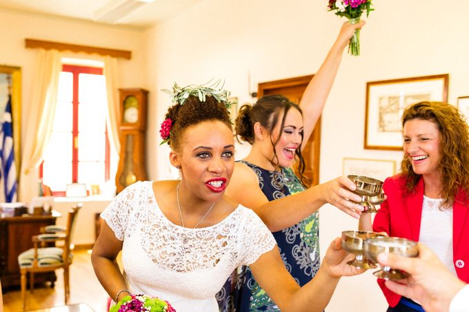 An Afro American wedding in Greece by MarrymeinGreece - 035