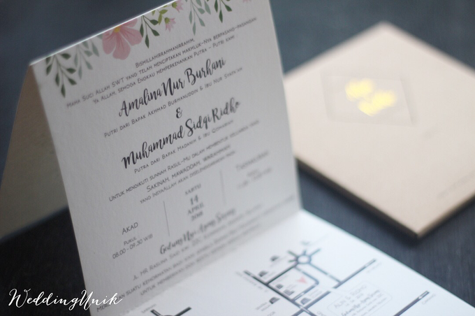 folded invitation by weddingunik bridestory com