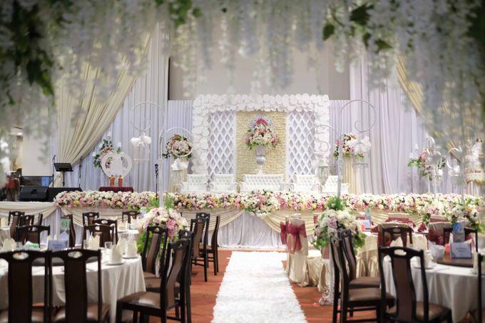 Reception of Sebastian & Sheila by Kayika Wedding Organizer - 011