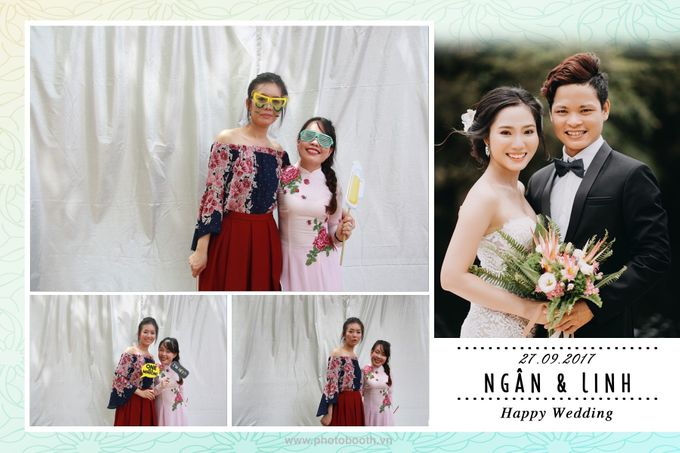 Ngan & Linh Wedding Photo Booth by Wefiebox by WefieBox Photobooth Vietnam - 002