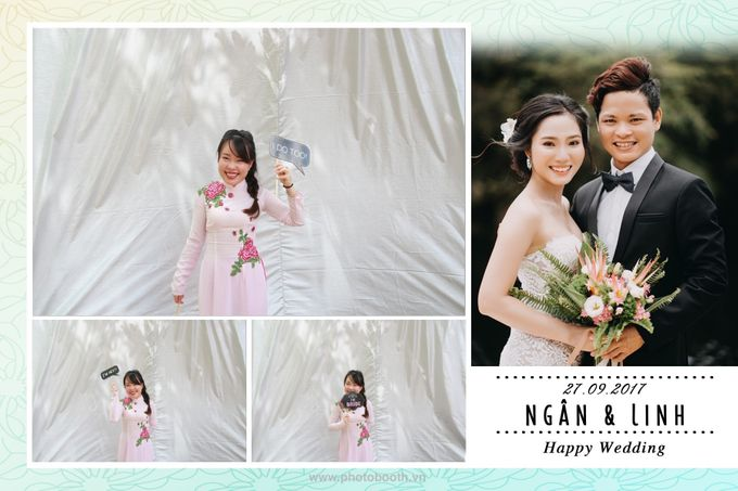 Ngan & Linh Wedding Photo Booth by Wefiebox by WefieBox Photobooth Vietnam - 003