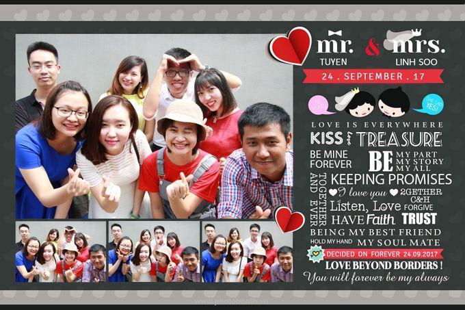 Tuyen & Linh Soo Wedding by WefieBox Photobooth Vietnam by WefieBox Photobooth Vietnam - 002