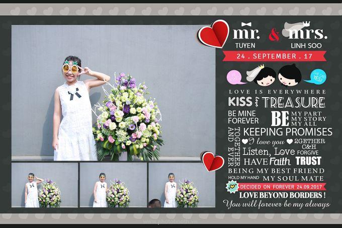 Tuyen & Linh Soo Wedding by WefieBox Photobooth Vietnam by WefieBox Photobooth Vietnam - 003
