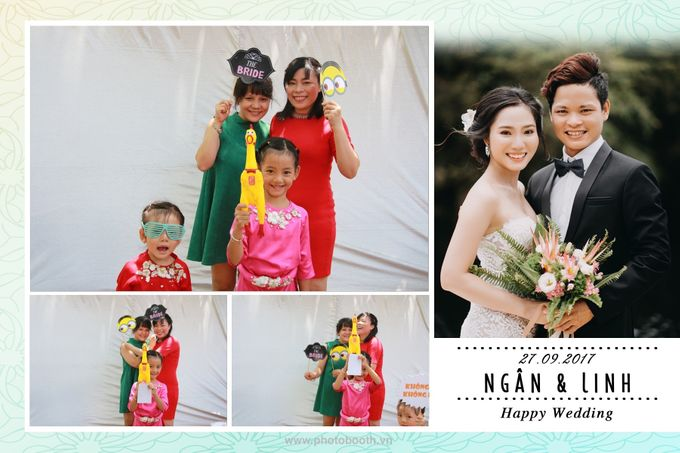 Ngan & Linh Wedding Photo Booth by Wefiebox by WefieBox Photobooth Vietnam - 007