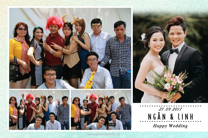 Ngan & Linh Wedding Photo Booth by Wefiebox by WefieBox Photobooth Vietnam - 005