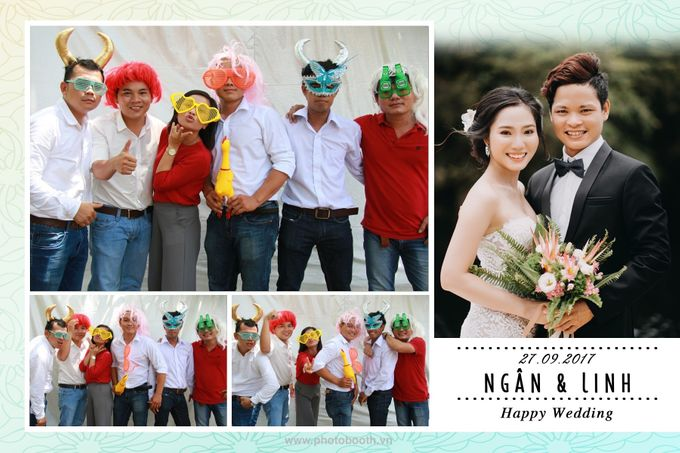 Ngan & Linh Wedding Photo Booth by Wefiebox by WefieBox Photobooth Vietnam - 008