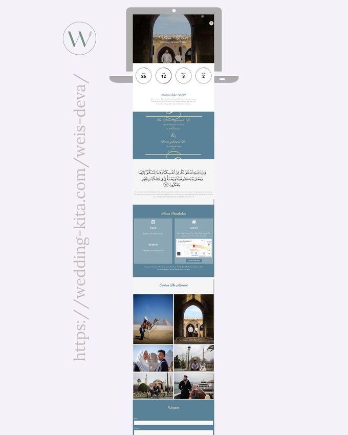 Undangan Digital Website Custom 6 by Wedding kita invitation - 001