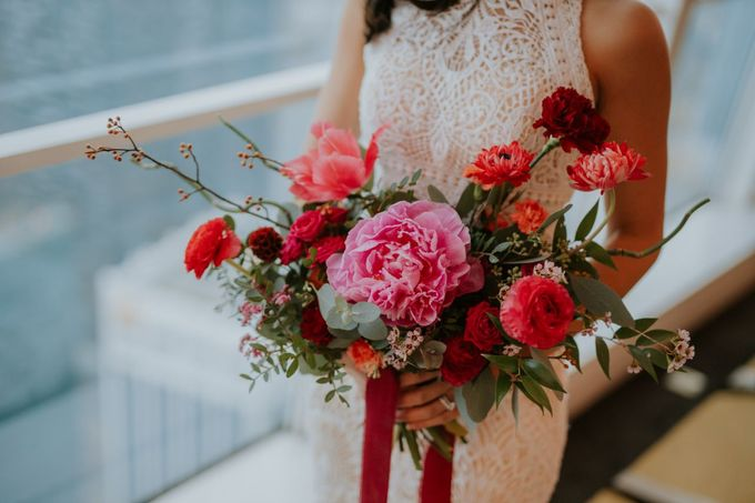 Bridal Bouquets by The Bloomish Eden - 012