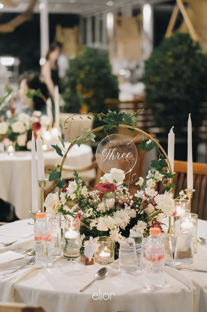 The Wedding of Welly and Janette by Elior Design - 005