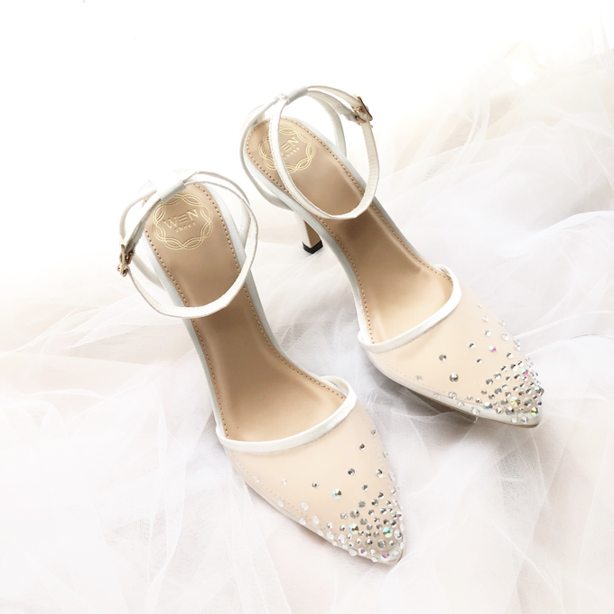 a5b6139e5cd Add To Board Pointy heels  wedges  flat shoes  platform heels by Wen Custom    Bridal Shoes