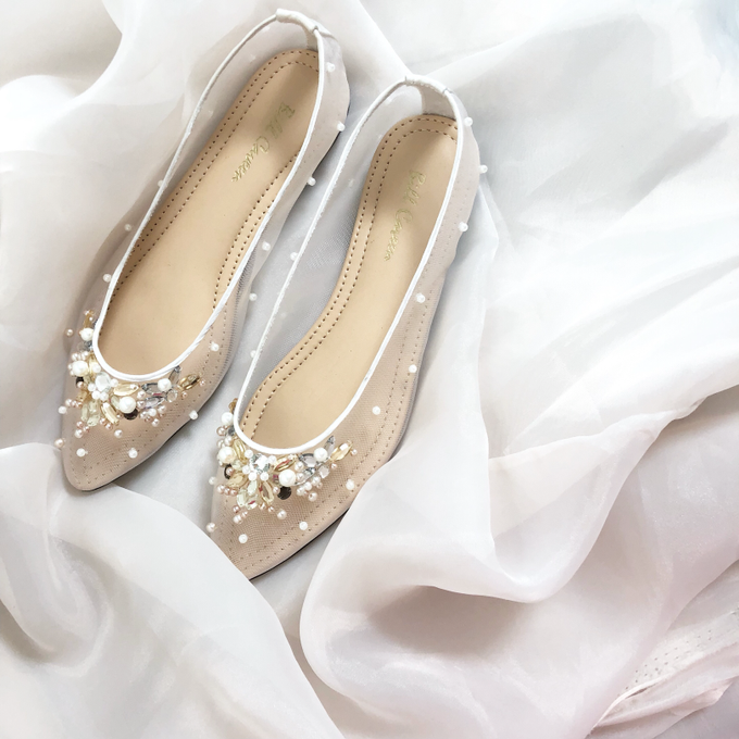 Flat shoes by Wen Custom & Bridal Shoes - 001