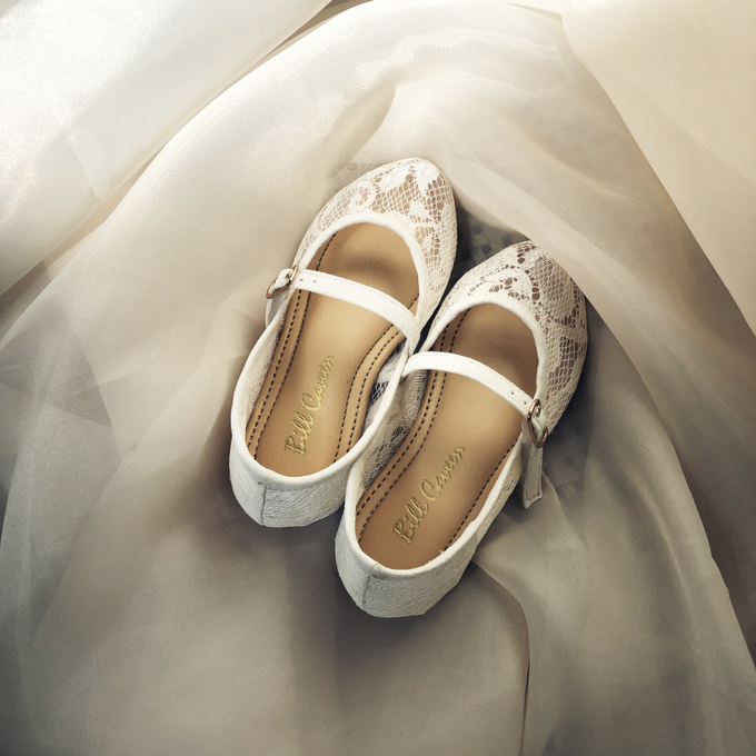 04243399f Add To Board Shoes for Flower girl (couple) by Wen Custom   Bridal Shoes -  001