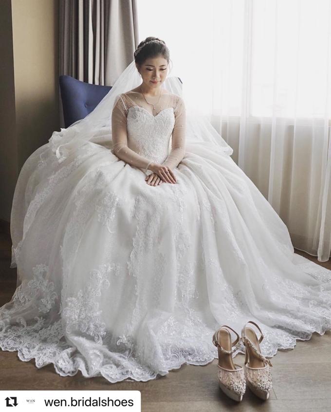 Bride  by Wen Custom & Bridal Shoes - 004
