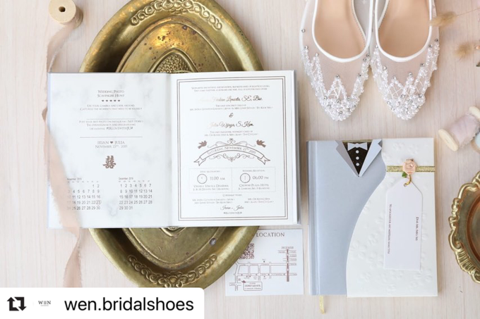 Bride  by Wen Custom & Bridal Shoes - 009