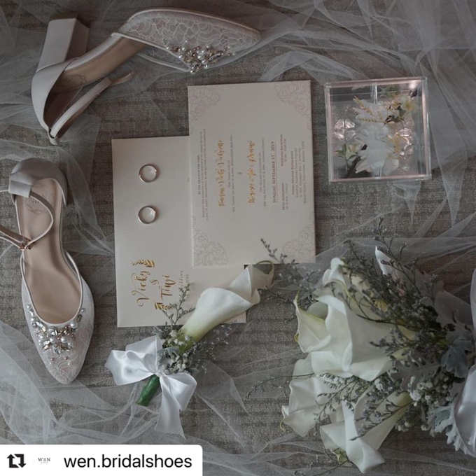 Bride  by Wen Custom & Bridal Shoes - 011