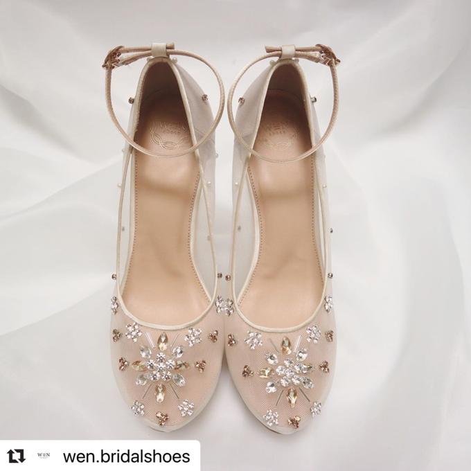 Wen Custom & Bridal Shoes (Platform heels) by Wen Custom & Bridal Shoes - 014