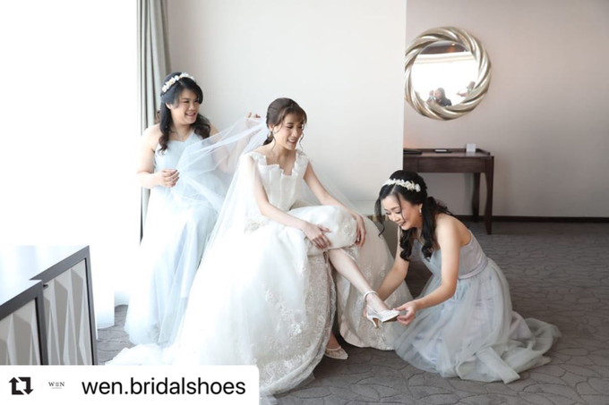Bride  by Wen Custom & Bridal Shoes - 015