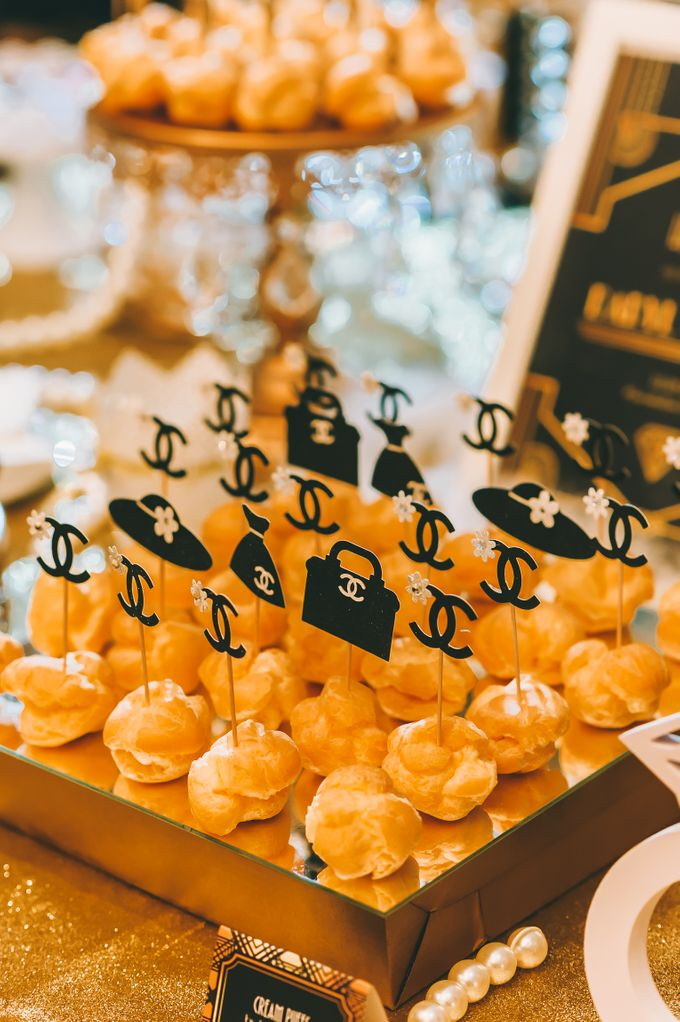 Wedding Dessert Reception By Sunlife Pastries Bridestory