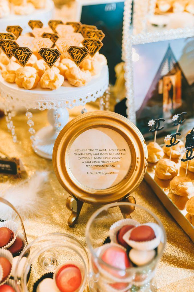 Wedding Dessert Reception by Sunlife Pastries - 005