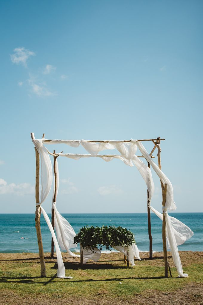 Tropical Rustic Wedding of Wesley & Laura by Silverdust Decoration - 006