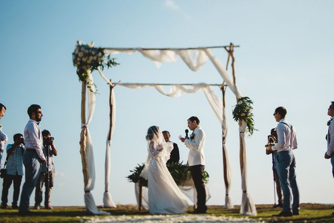 Tropical Rustic Wedding of Wesley & Laura by Silverdust Decoration - 022
