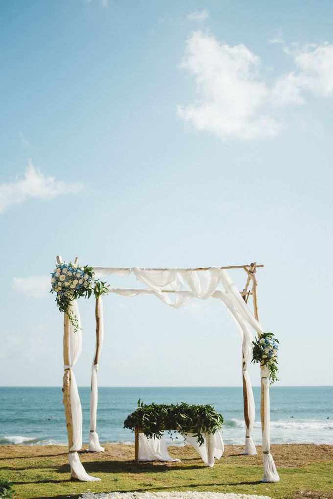Tropical Rustic Wedding of Wesley & Laura by Silverdust Decoration - 015