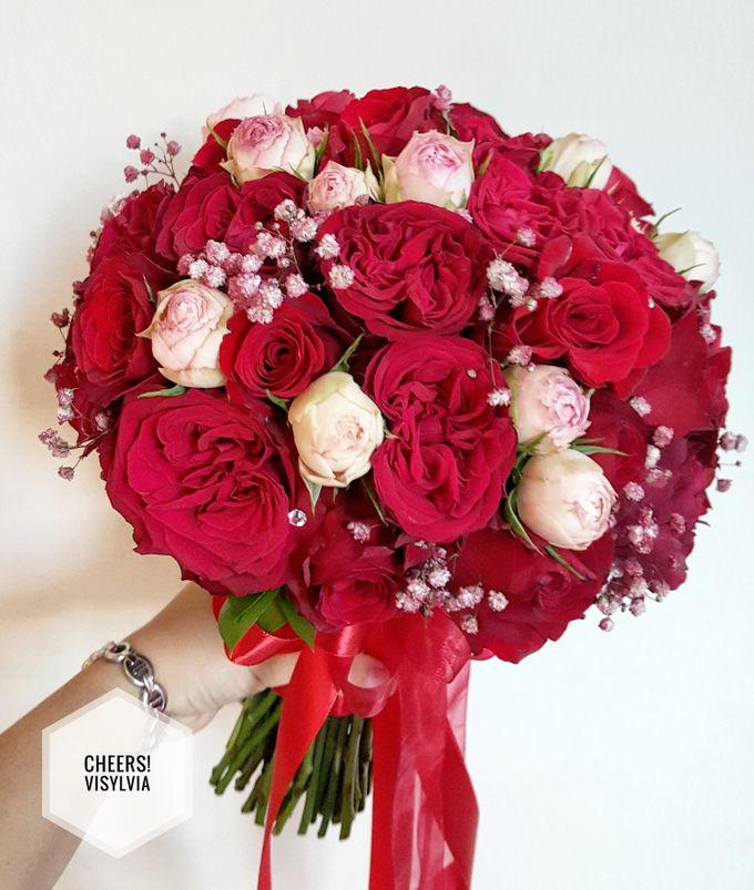 WEDDING BOUQUET  by visylviaflorist - 004