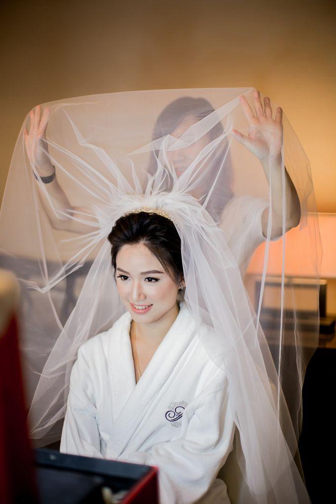 Grace Wedding. Natural & Korean Style Make Up by Marsia Yulia Signature. Natural and Korean Make Up Specialist. - 011