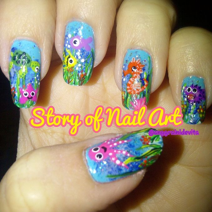 Painting Nails by Story of Nailart - 011