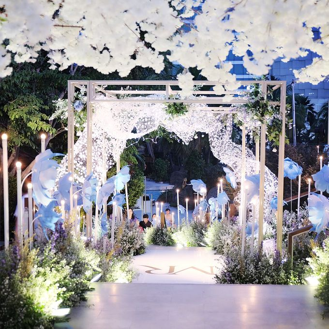 Robert and Michelle Wedding by Orchid Florist and Decoration - 001
