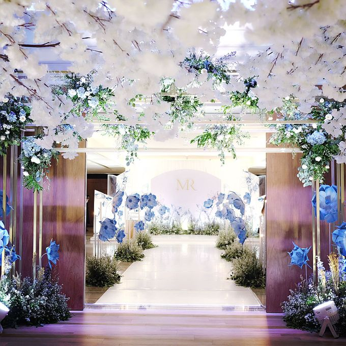Robert and Michelle Wedding by Orchid Florist and Decoration - 005