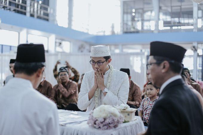 Wedding Layli -Amal by LAKSMI - Kebaya Muslimah & Islamic Bride - 004