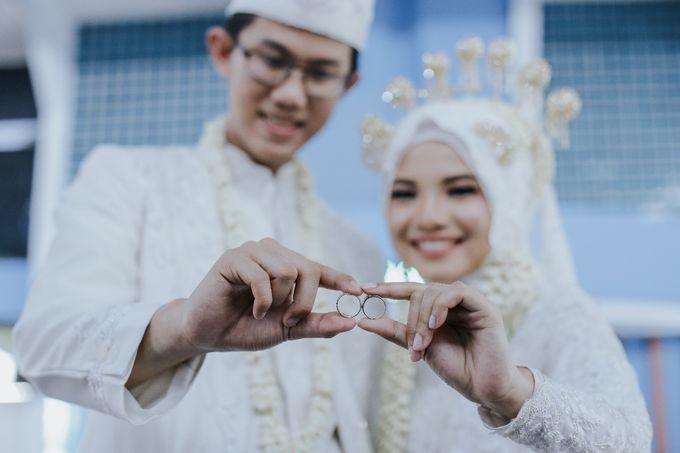 Wedding Layli -Amal by LAKSMI - Kebaya Muslimah & Islamic Bride - 007