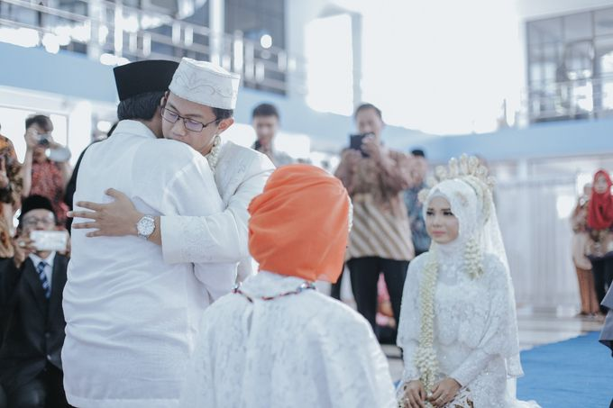 Wedding Layli -Amal by LAKSMI - Kebaya Muslimah & Islamic Bride - 008